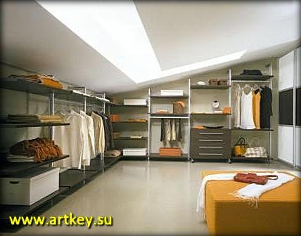 Сделать гардеробную комнату на заказ