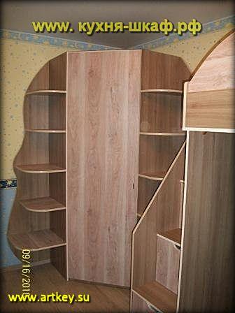 Производство мебели в детскую комнату на заказ в Петербурге и Ленинградской области
